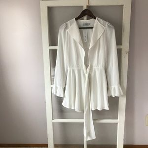 Lioness white romper new with tags